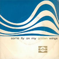 Come fly on my golden wings (skivomslag)