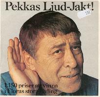 Pekkas ljud-jakt (skivomslag)